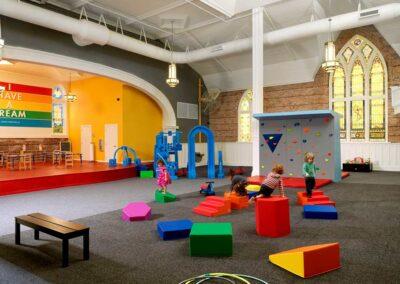 Metro 510 Life Center Colorful Playroom